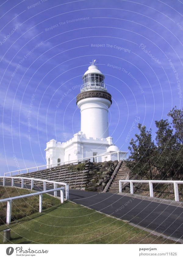 Lighthouse Cape Byron Australia Lake Coast Architecture