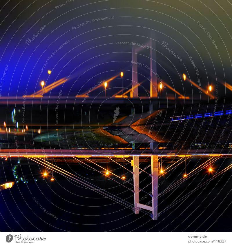 Water Street Dark Coast Germany Bridge River Mirror Rotate Main Bavaria Flow HDR Traffic lane Consistent Rotated