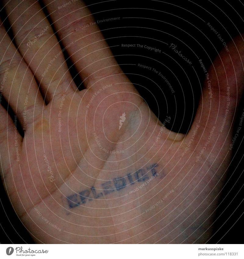 Hand Line Skin Fingers Characters Letters (alphabet) Signage Information Symbols and metaphors Typography Completed Pistil Skeleton