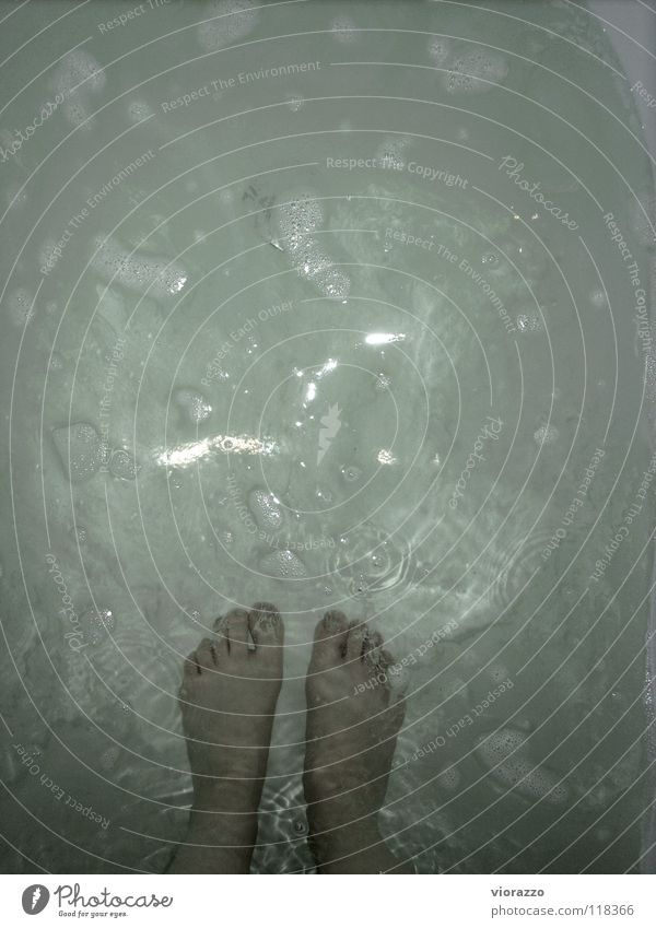 Water White Green Warmth Feet Bathtub Physics Concentrate Blow Foam Drainage Bathtub water Moated castle