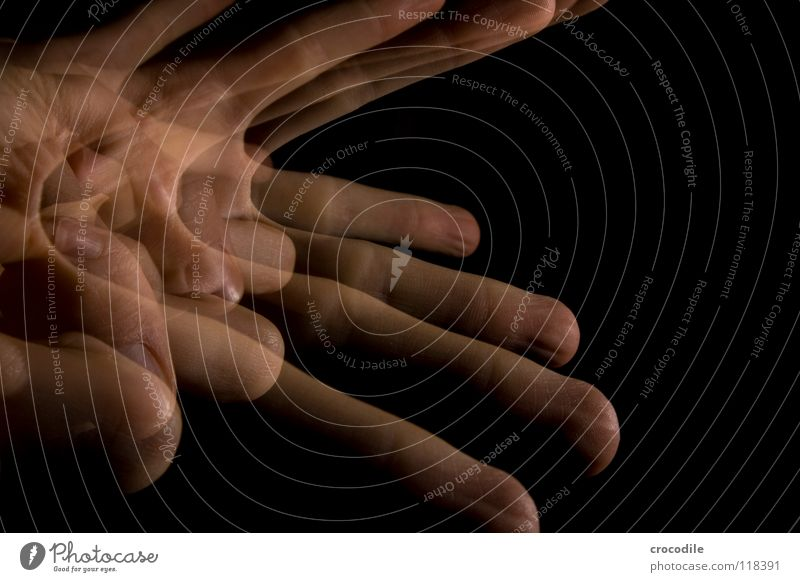 magic 2 Hand Fingers Transparent Dark Night Uniqueness Fist Peace whack Movement Abstract creepy stroboscope flash darkness fingertip singer's imprint Spooky