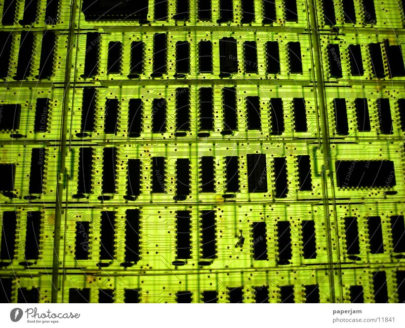 Green Technology Attic Microchip Circuit board Electronics Electrical equipment Conductor