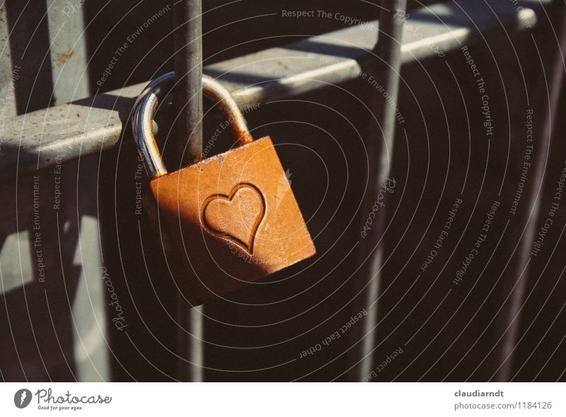 shadow heart Metal Sign Ornament Heart Lock Emotions Passion Sympathy Together Love Loyalty Romance Sadness Lovesickness Longing Happy Divide Padlock