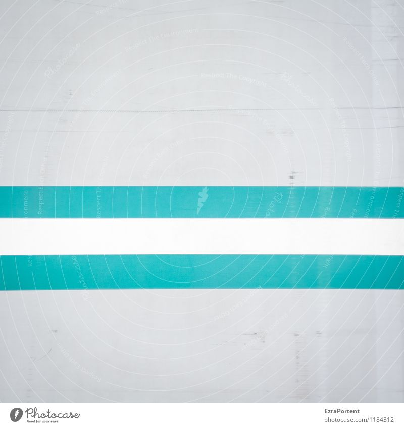 - Style Design Decoration Metal Sign Stripe Esthetic Dirty Bright Gray Turquoise White Colour Fashioned Direct Scratch mark Geometry Illustration Graph Graphic