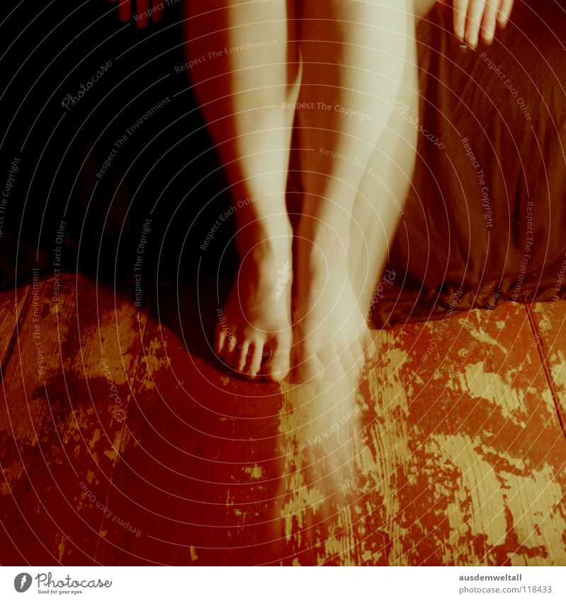 Human being Hand Black Colour Feminine Emotions Movement Feet Legs Floor covering Analog Toes