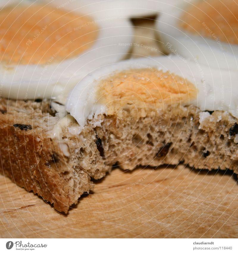 Food Nutrition Part Appetite Breakfast Bread Egg Dinner Attempt Meal Chopping board Haircut Full Sandwich Butter Yolk