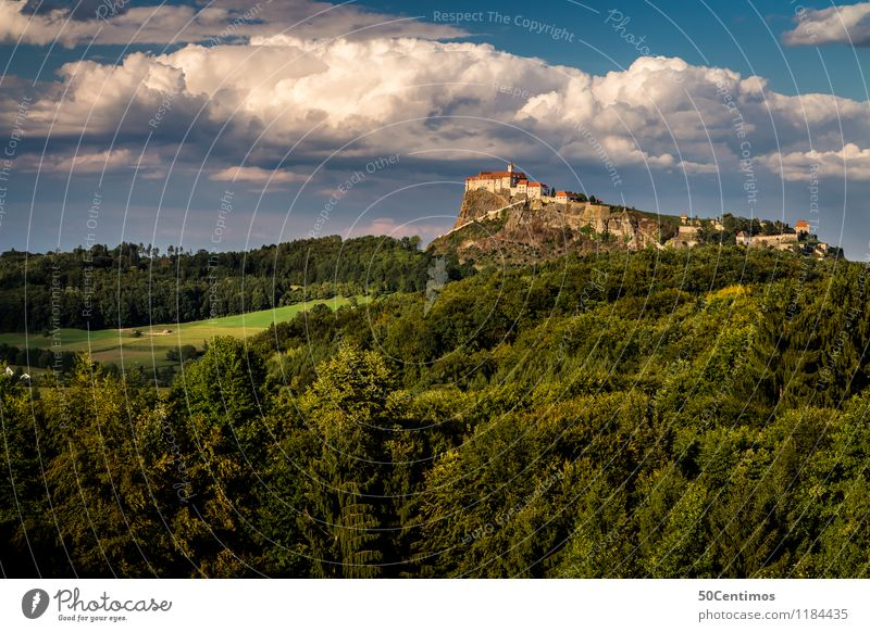 The Riegersburg Castle Vacation & Travel Tourism Trip Adventure Far-off places Freedom Sightseeing City trip Summer Summer vacation Mountain Hiking Landscape