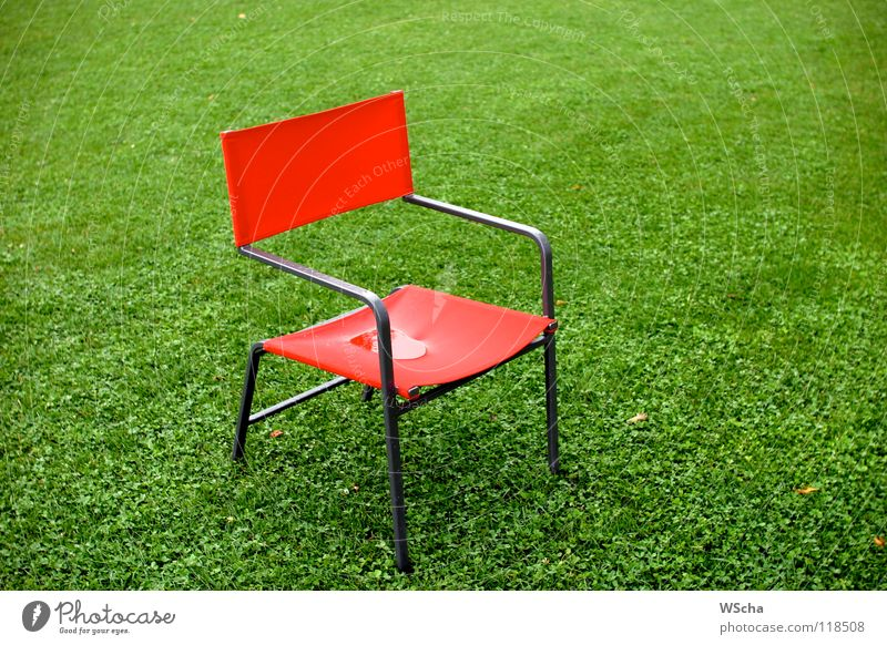 Nature Green Red Colour Meadow Landscape Furniture