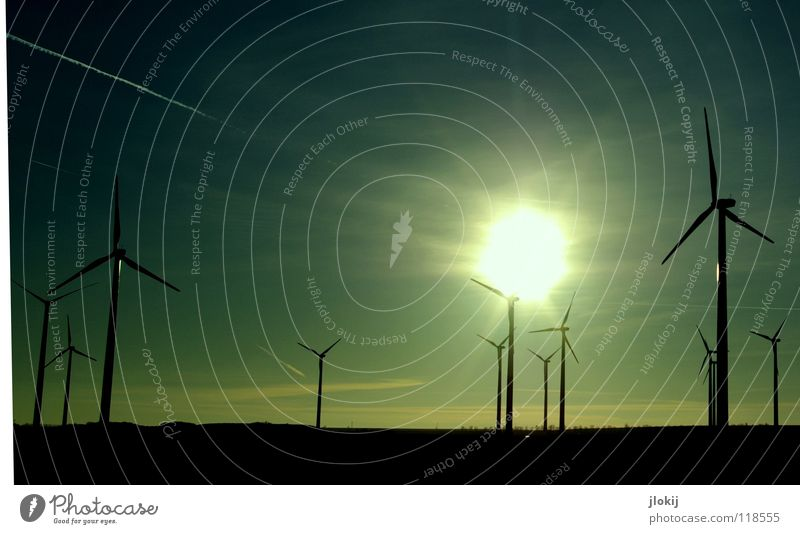 Sky Sun Meadow Grass Air Power Field Industry Energy industry Electricity Lawn Net Clarity Wind energy plant Company Rotate