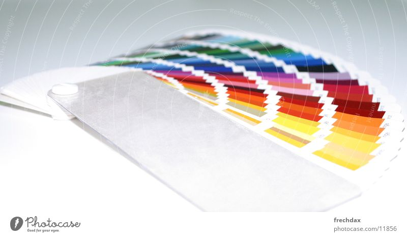 colour fan Colour Guide Colour selection Selection Lettering Atelier RAL Illustration Advertising