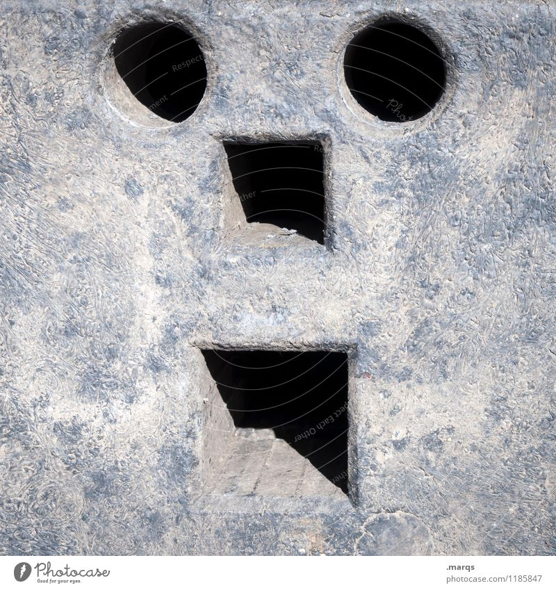 Face Funny Exceptional Creativity Simple Construction site Plastic Whimsical
