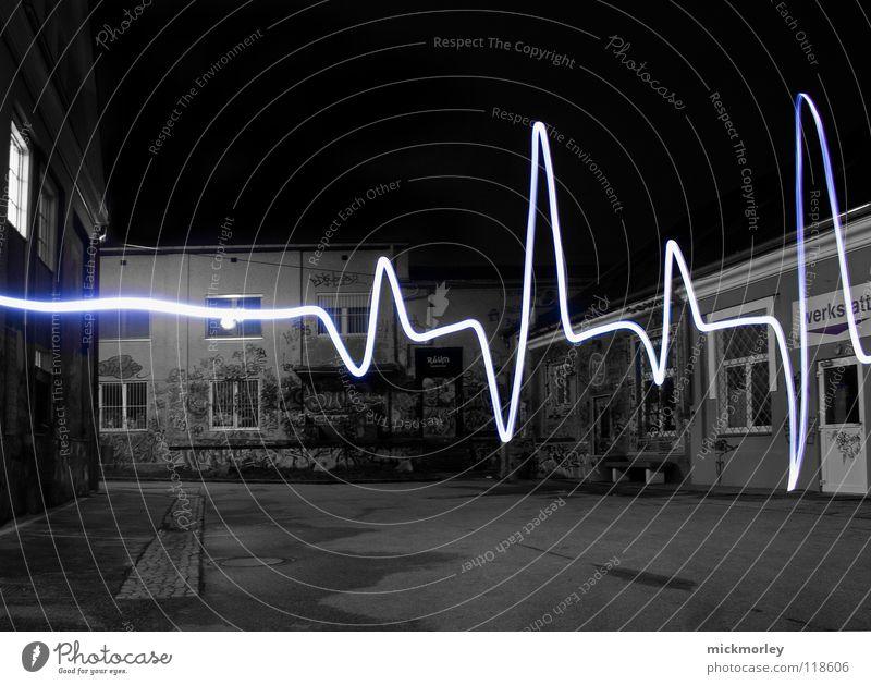 Music Blue Lamp Life Movement Heart Time Exposure Rock'n'Roll Flashlight Cardiovascular system Pulse Slaughterhouse Wels