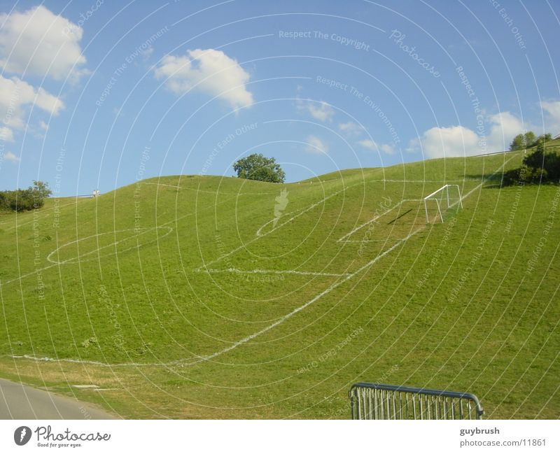 Sky Soccer Field Crazy a Royalty Free Stock Photo from Photocase