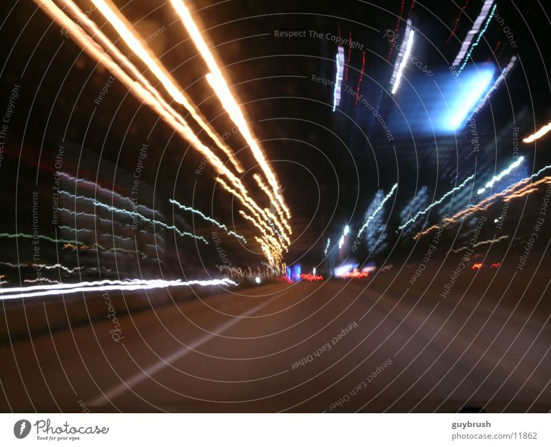 rollin Night Light Speed Transport Street