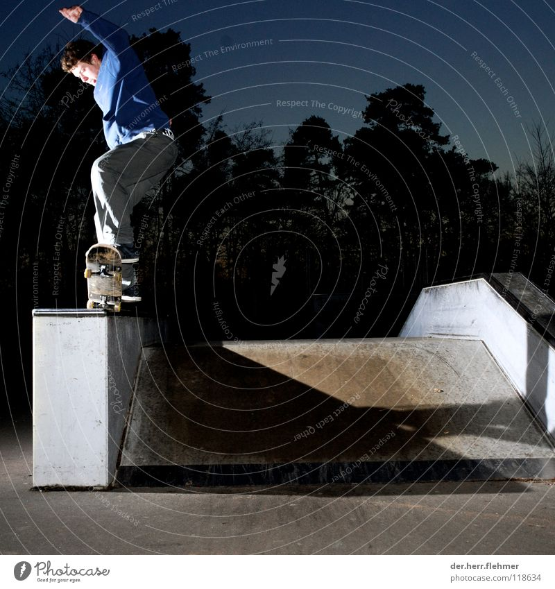 5-0 Skateboarding Sweater Sports ground Back-light Grind Contentment Tree Park Broken Playing funbox Shadow Individual