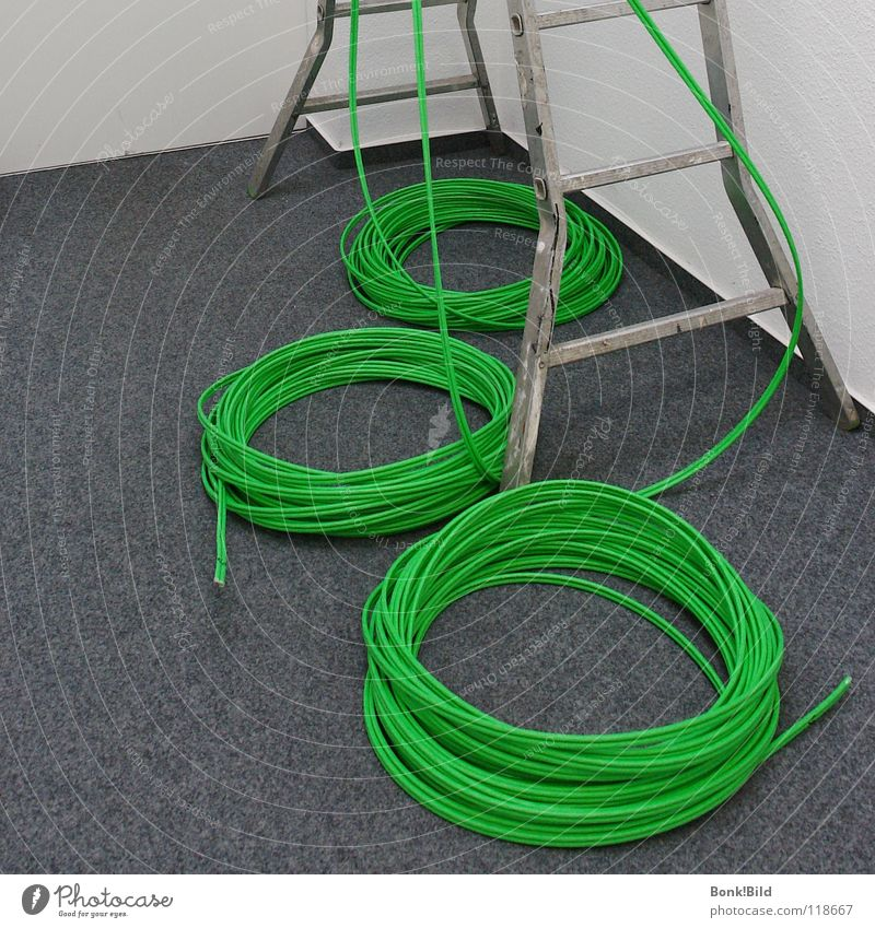tangled cables Green Loop Tree Information Technology Cable Crash Infrastructure Electrician Craftsperson Philosopher Internet Electrical equipment