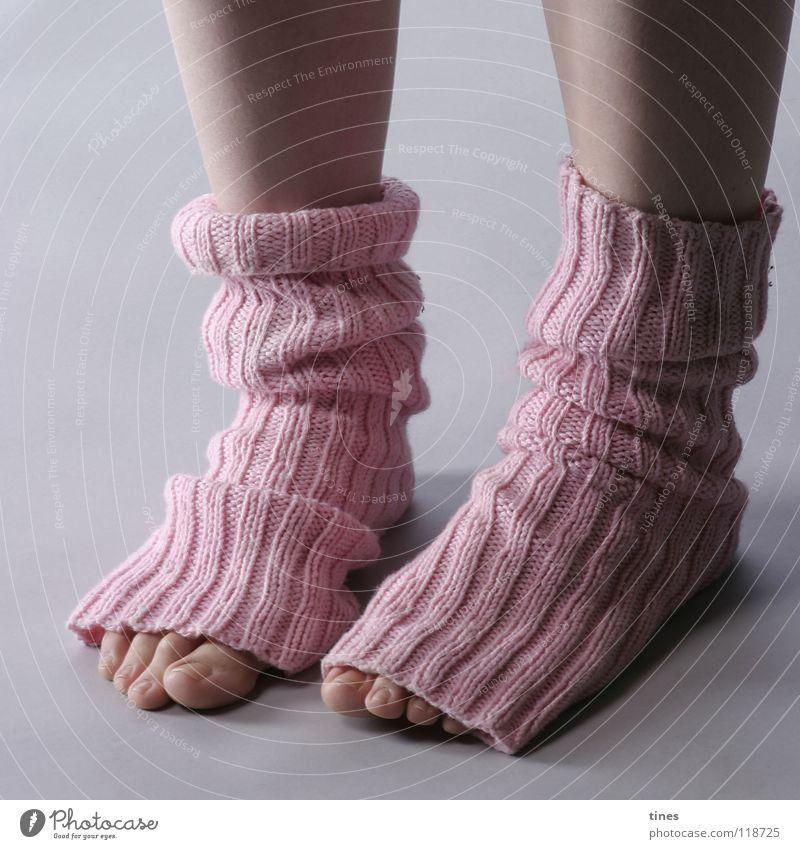 Beautiful Feet Footwear Pink Curiosity Wrinkles Boredom Hollow Stockings Toes Pastel tone Cuffs or leggings