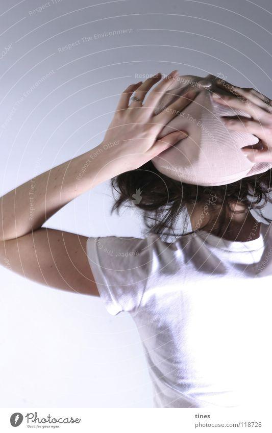 head pressure Hand Rotate Pink Headache To fall Beautiful Hat Dance Hair and hairstyles