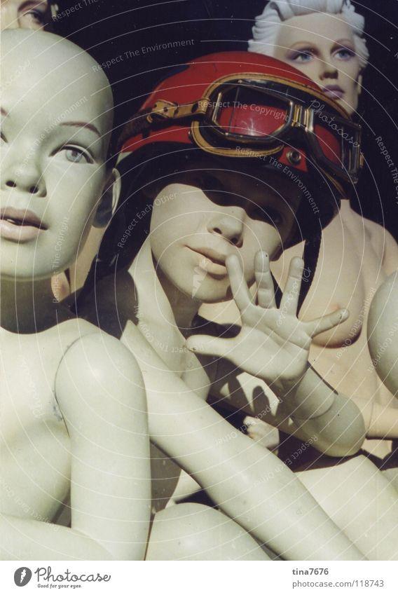 Human being Hand Red Naked Death Decoration Doll Eyeglasses Helmet Salutation Mannequin Shop window Flying goggles