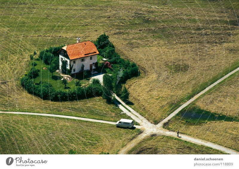 House (Residential Structure) Street Garden Lanes & trails Building Field Bird's-eye view Transport Future Roof Target Traffic infrastructure Individual
