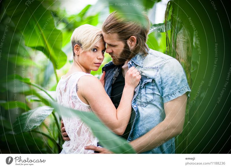 near Masculine Feminine Young woman Youth (Young adults) Young man Couple 2 Human being 18 - 30 years Adults Eroticism Together Hip & trendy Beautiful Lovers