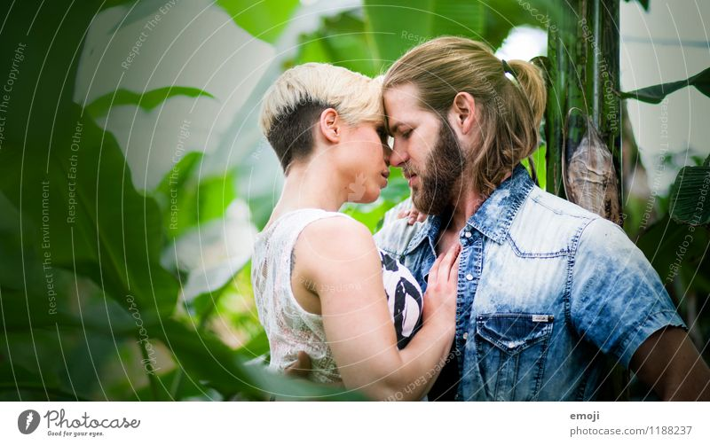 love of nature Masculine Feminine Young woman Youth (Young adults) Young man Couple 2 Human being 18 - 30 years Adults Together Beautiful Uniqueness Love