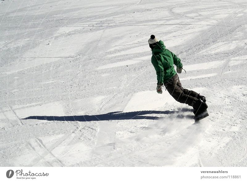 White Winter Snow Sports Playing Alps Tracks Curve Slope Swing Snowboard Winter sports Tilt Ski run Snowboarding Snowboarder
