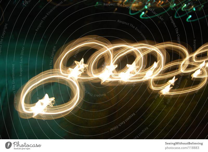 Christmas & Advent Dark Lighting Star (Symbol) Fairy lights
