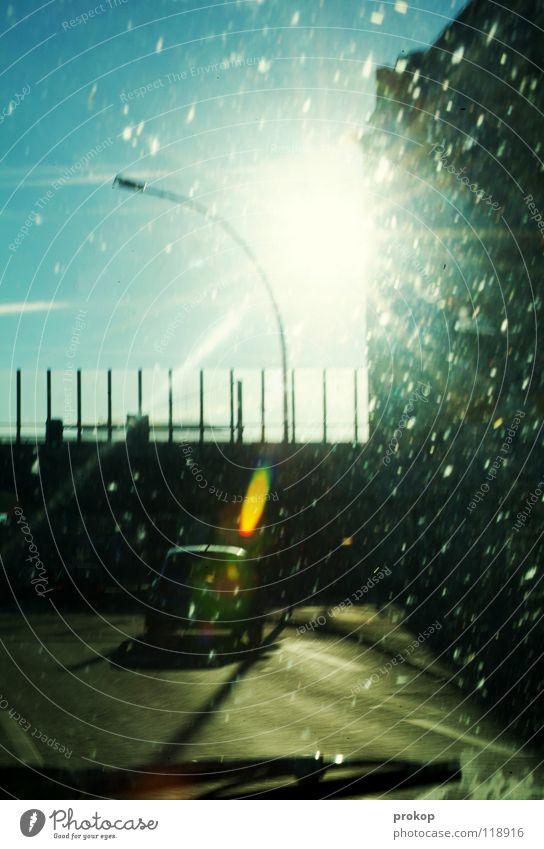 Urban Catapult - East side Town Transport Light Back-light Windscreen wiper Bird droppings Oncoming traffic Highway drifer Motor vehicle Vehicle Neukölln Dazzle