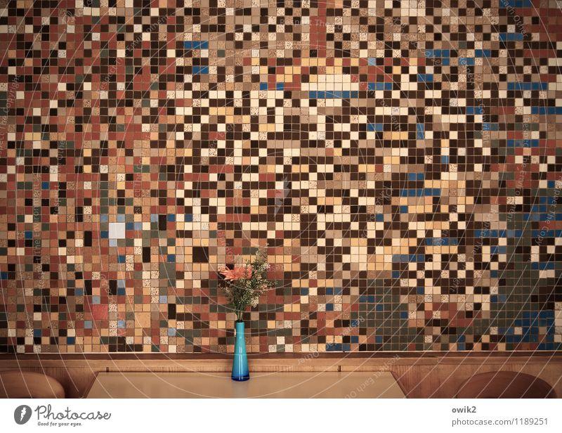 Wall (building) Art Design Decoration Arrangement Crazy Table Large Retro Many Chair Furniture Part Bouquet Tile Chaos