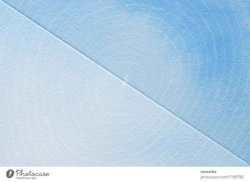 blue watercolours on textured paper Blue Colour Style Background picture Gray Art Bright Design Fresh Modern Creativity Drinking water Simple Paper
