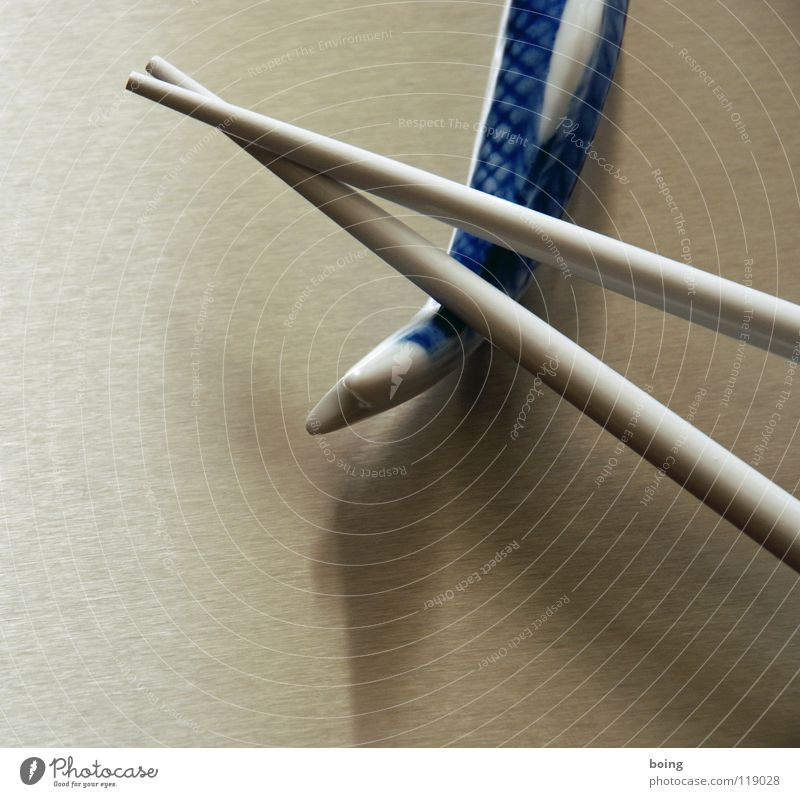 Section of image Partially visible Object photography Chopstick Bright background