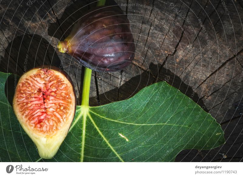 Figs in yellow bowl Nature Green Red Leaf Autumn Natural Fruit Fresh Exotic Diet Vitamin Juicy Half Cut Ingredients Raw
