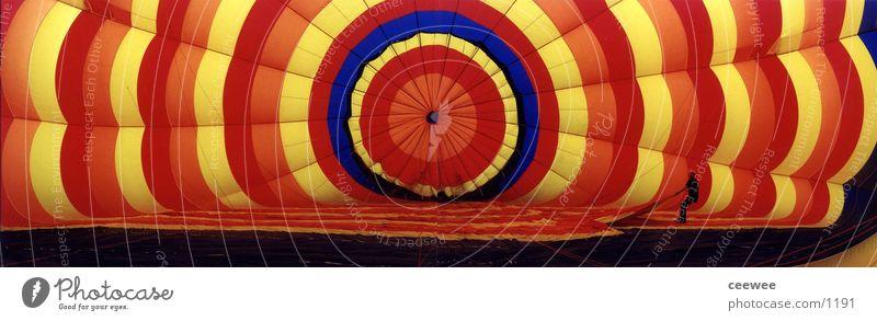 Balloon inside Driving Colour Air Hot Air Balloon