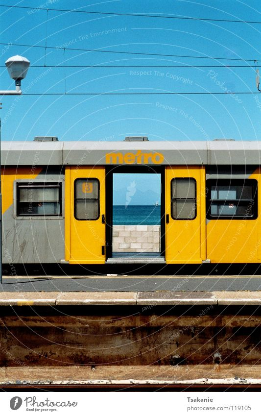Train of freedom Multicoloured Exterior shot Africa Industry South Africa Cap of Good Hopes Cape of Southern Africa Freedom