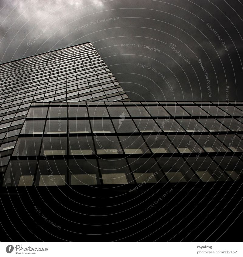 Sky White City Clouds House (Residential Structure) Black Dark Rain 2 Together Fog Modern High-rise Tower Thunder and lightning Prefab construction