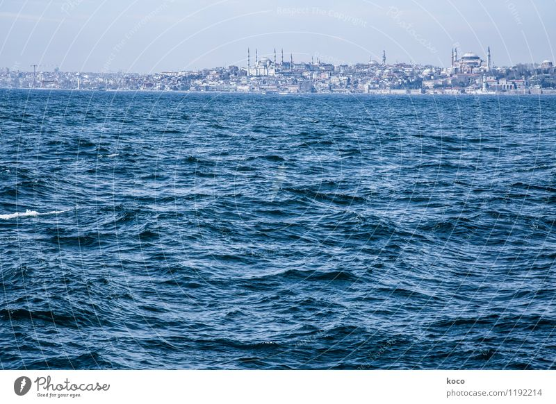 Merhaba Istanbul! Water Spring Summer Beautiful weather Waves Coast Ocean The Bosphorus Turkey Europe Asia Town Capital city Port City Outskirts Skyline