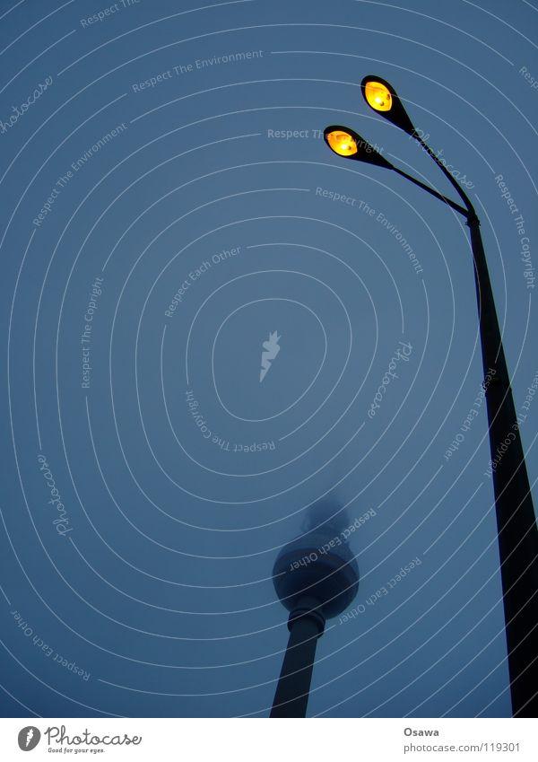 Winter Clouds Lamp Dark Berlin Sadness Building 2 Fog Tower Middle Lantern Monument Manmade structures Landmark