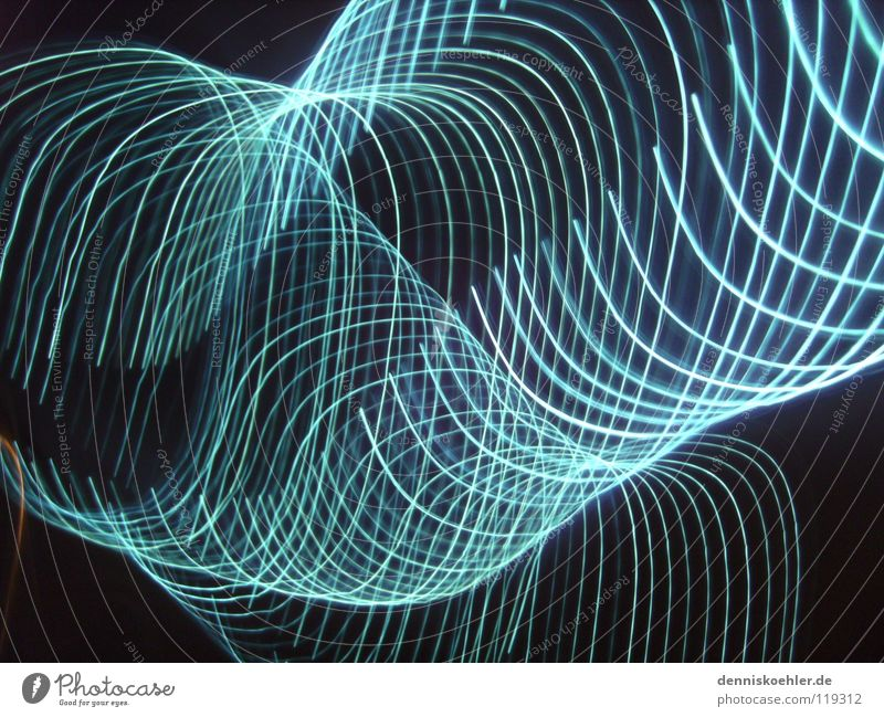 Blue Joy Black Dark Movement Bright Circle Row Repeating London Underground Hose Flashy Tube light Dark background