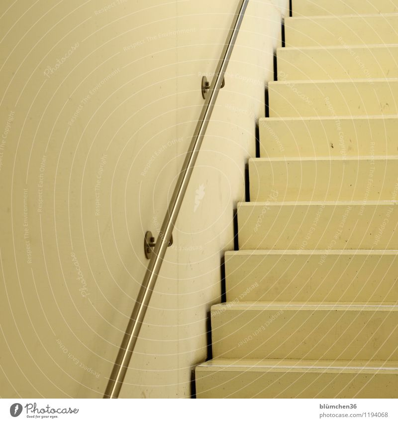 upwards! Building Architecture Interior design Parking garage House (Residential Structure) Wall (barrier) Wall (building) Stairs Staircase (Hallway) Banister