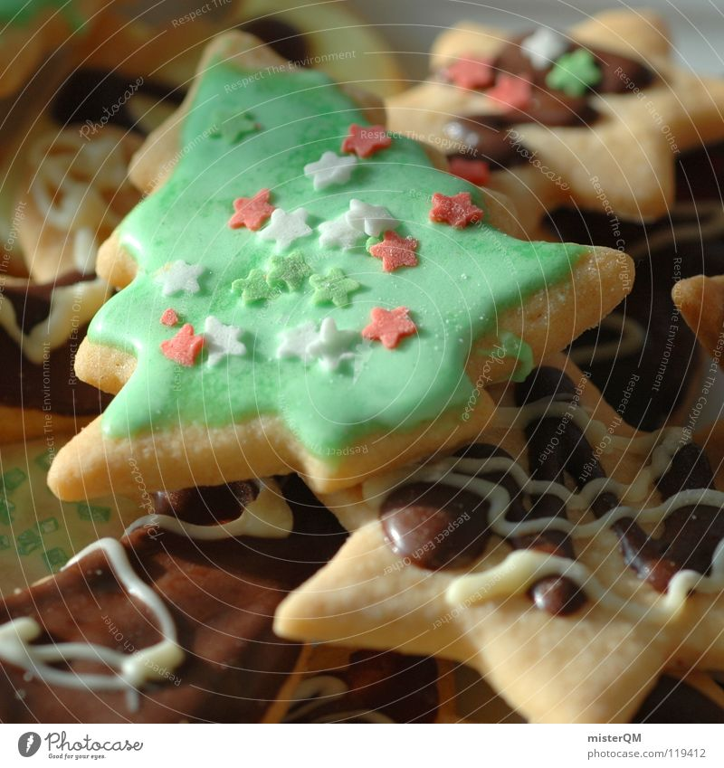 Old Christmas & Advent Life Feasts & Celebrations Food Bright Decoration Nutrition Success Cooking & Baking Corner Sweet Star (Symbol) Delicious Candy Derelict
