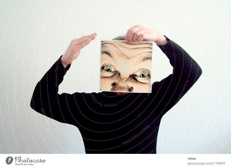 Man Joy Face Eyes Head Planning Masculine Clothing Crazy Esthetic Anger Stupid Sweater Aggravation Aggression Extreme