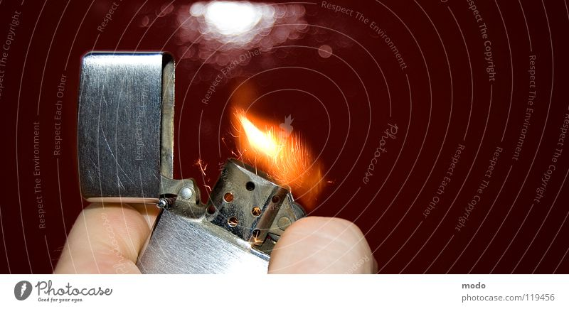 Hand Blaze Fingers Open Smoking Hot Silver Flame Spark Lighter Ignite Ignite Human being Activate Baseball cap