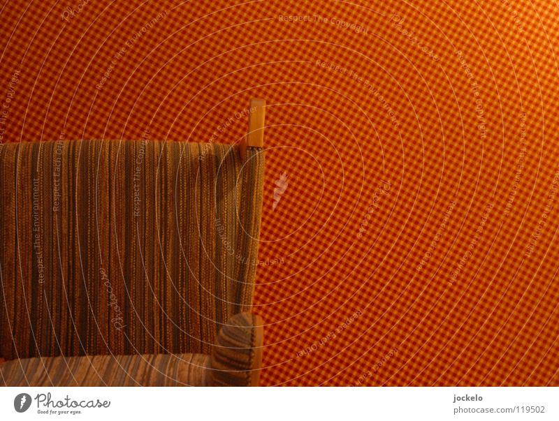 Red Calm Wood Orange Floor covering Stripe Chair Boredom Armchair Carpet Backrest