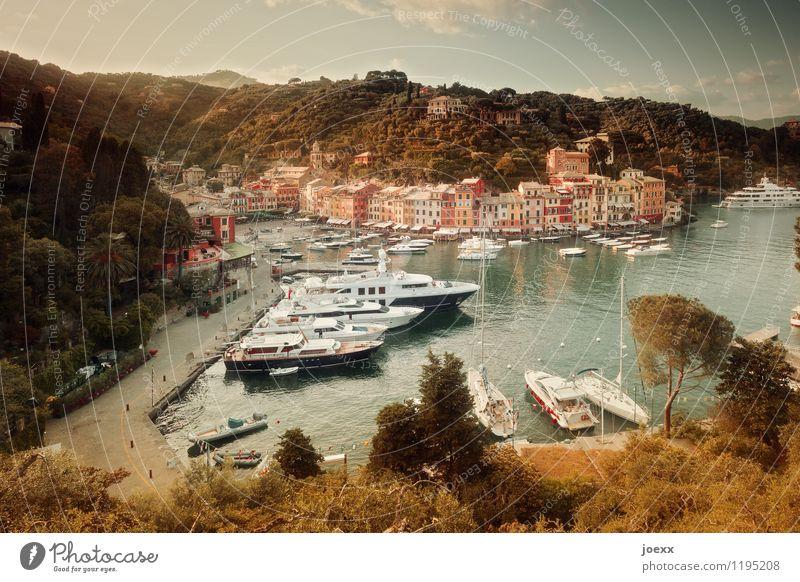 Bonzen parking lot Vacation & Travel Tourism City trip Summer Ocean Landscape Water Sky Beautiful weather Mountain Coast Portofino Village