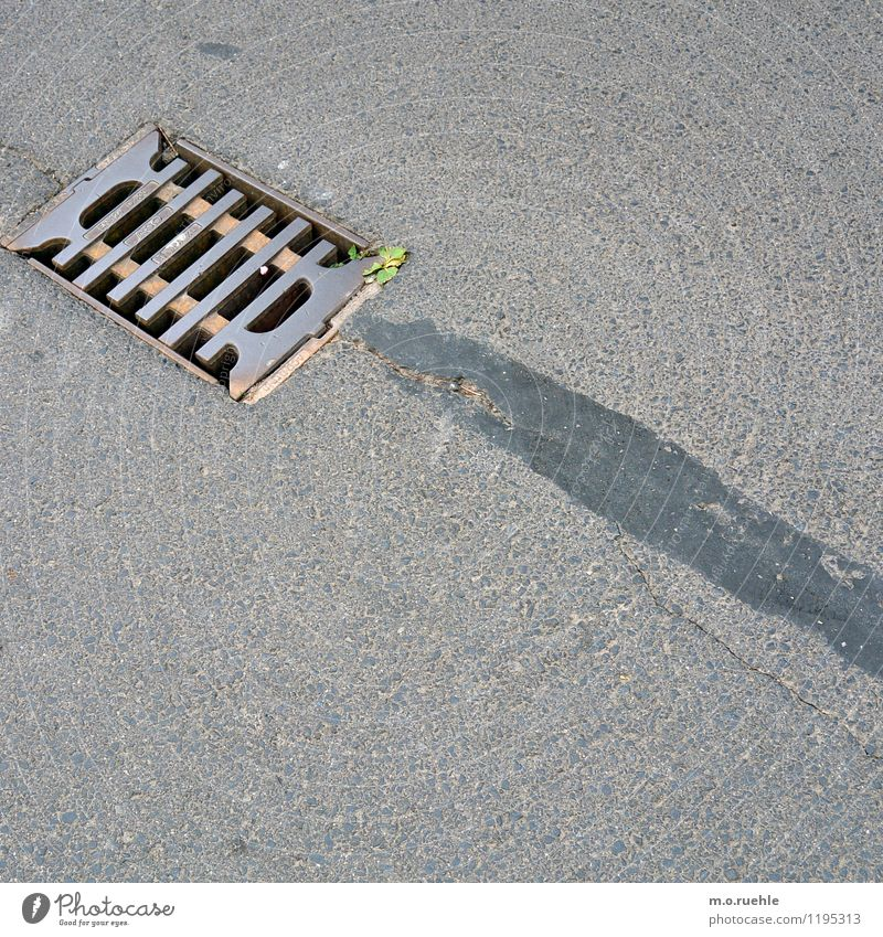 City Water Street Concrete Asphalt Village Pavement Drainage Runlet Infrastructure Seep