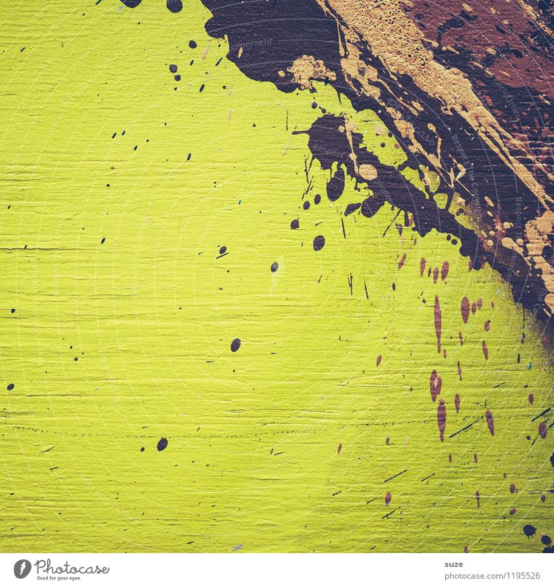 Green Colour Style Background picture Exceptional Brown Art Design Wild Modern Crazy Esthetic Creativity Idea Painting (action, artwork) Illustration