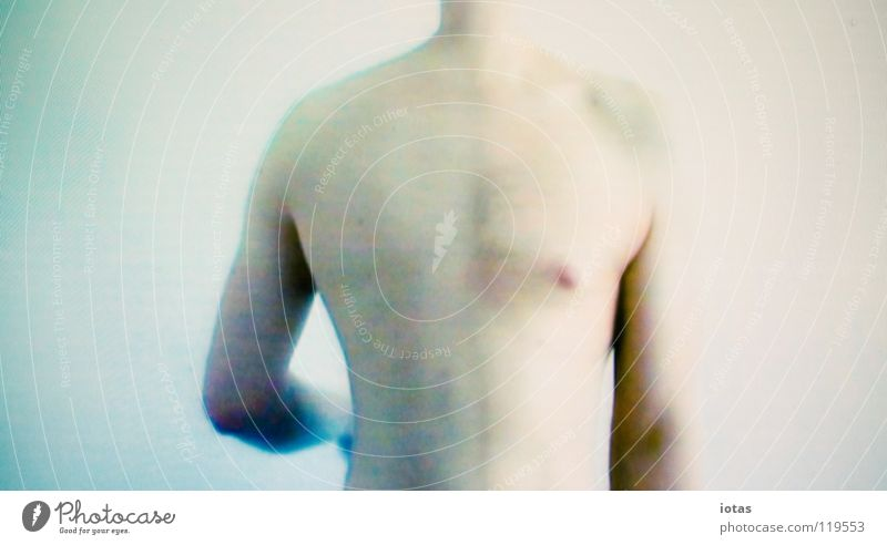 Man Calm Naked Body Masculine Modern Trust Science & Research Surrealism Video Project
