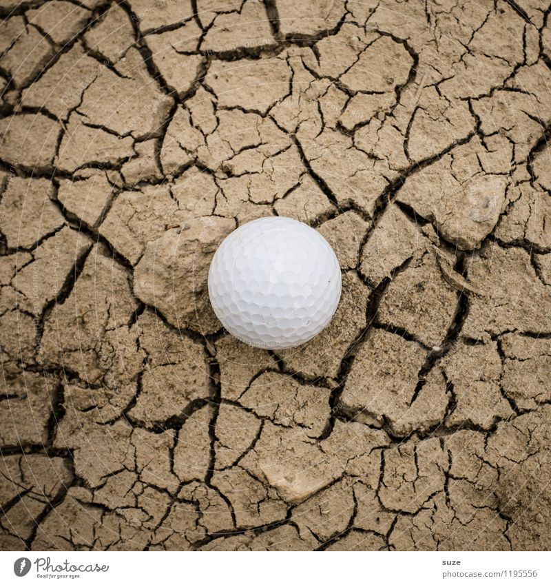 Missing place | Green Leisure and hobbies Playing Mini golf Sports Ball sports Golf Golf course Nature Earth Drought Desert Small Round Dry Brown White Thirst
