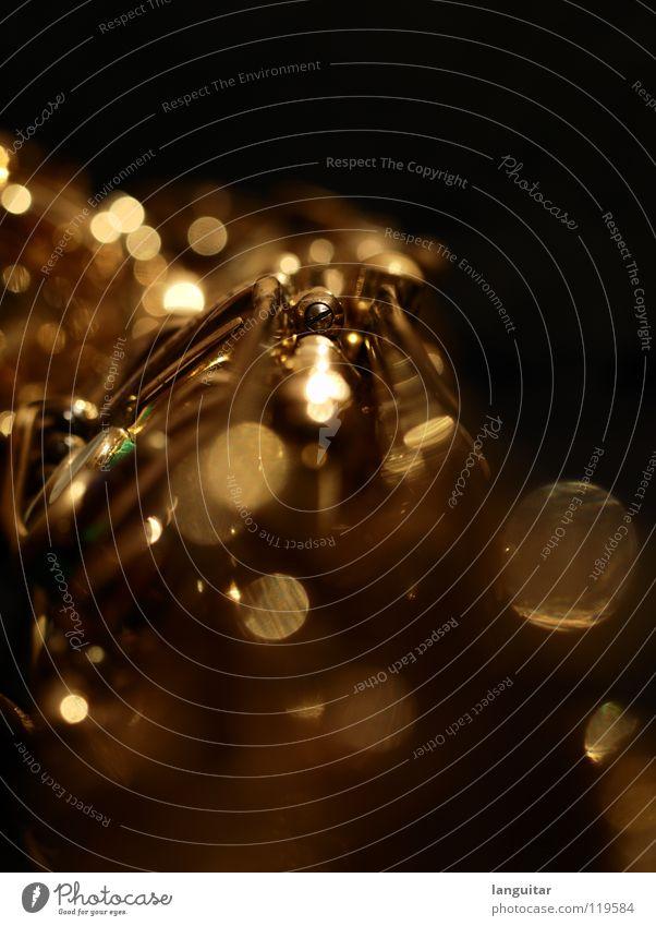 Joy Dark Playing Music Metal Glittering Gold Exceptional Depth of field Musical instrument Wind instrument Swing Jazz Blues Mechanics Flap